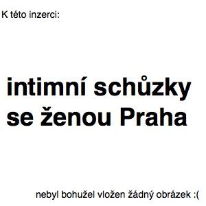 intimní schůzky se ženou Praha